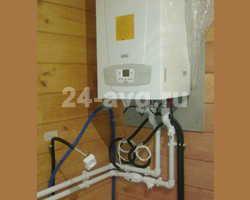 Пример смонтированной газовой котельной.